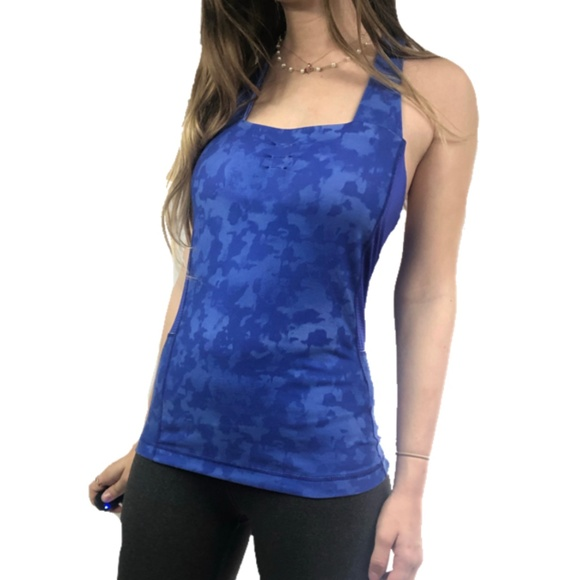 Special Price Fitness The North Face Tank Top Blue S & T